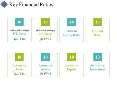 Key Financial Ratios Ppt PowerPoint Presentation Styles Portfolio