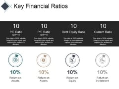Key Financial Ratios Ppt PowerPoint Presentation Summary Inspiration