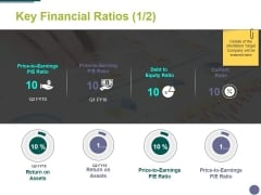 Key Financial Ratios Template 1 Ppt PowerPoint Presentation Infographics Shapes