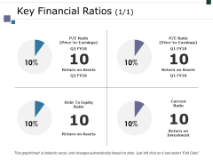 Key Financial Ratios Template 1 Ppt PowerPoint Presentation Professional Samples