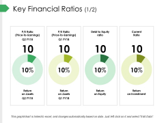 Key Financial Ratios Template 1 Ppt PowerPoint Presentation Summary Maker
