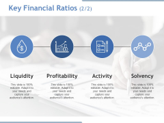 Key Financial Ratios Template 2 Ppt PowerPoint Presentation Outline Examples