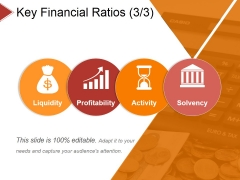 Key Financial Ratios Template 3 Ppt PowerPoint Presentation Summary Sample