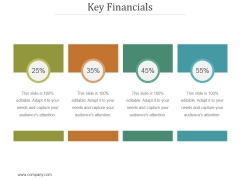 Key Financials Ppt PowerPoint Presentation Clipart