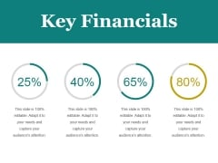 Key Financials Ppt PowerPoint Presentation Introduction