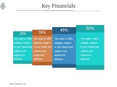 Key Financials Ppt PowerPoint Presentation Templates