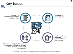 Key Issues Ppt PowerPoint Presentation Infographic Template Example 2015