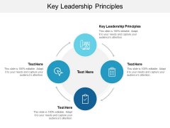 Key Leadership Principles Ppt PowerPoint Presentation Show Graphic Tips Cpb