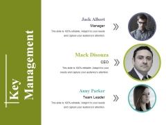 Key Management Ppt PowerPoint Presentation Outline Influencers