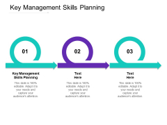 Key Management Skills Planning Ppt PowerPoint Presentation Outline Slideshow Cpb