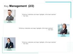 Key Management Team Ppt PowerPoint Presentation File Graphics Design