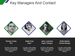 Key Managers And Contact Template 2 Ppt PowerPoint Presentation Example File