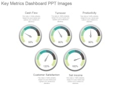Key Metrics Dashboard Ppt Images