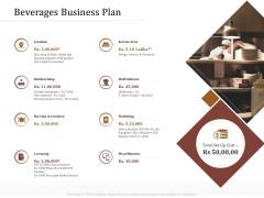 Key Metrics Hotel Administration Management Beverages Business Plan Guidelines PDF
