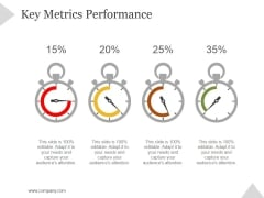 Key Metrics Performance Ppt PowerPoint Presentation Tips