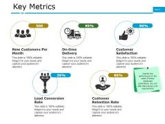 Key Metrics Ppt PowerPoint Presentation Infographics Example Topics