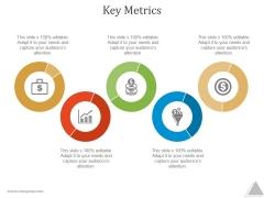 Key Metrics Ppt PowerPoint Presentation Introduction