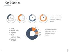 Key Metrics Ppt PowerPoint Presentation Outline Templates