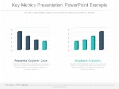 Key Metrics Presentation Powerpoint Example