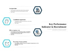 Key Performance Indicator In Recruitment Ppt PowerPoint Presentation Show Graphic Tips