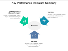 Key Performance Indicators Company Ppt PowerPoint Presentation Slides Model
