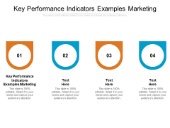 Key Performance Indicators Examples Marketing Ppt PowerPoint Presentation Ideas Clipart Cpb