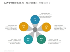 Key Performance Indicators Template 1 Ppt PowerPoint Presentation Inspiration