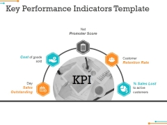 Key Performance Indicators Template 2 Ppt Powerpoint Presentation Model Background