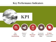 Key Performance Indicators Template 2 Ppt PowerPoint Presentation Pictures Slide