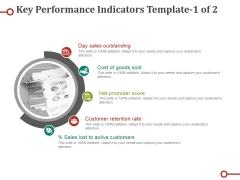 Key Performance Indicators Template Ppt PowerPoint Presentation Professional Diagrams