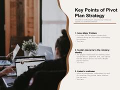 Key Points Of Pivot Plan Strategy Ppt PowerPoint Presentation Inspiration Background Designs PDF