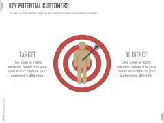 Key Potential Customers Ppt PowerPoint Presentation Show