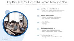 Key Practices For Successful Human Resource Plan Ppt PowerPoint Presentation File Example Introduction PDF