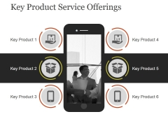 Key Product Service Offerings Template 1 Ppt PowerPoint Presentation Gallery