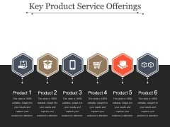 Key Product Service Offerings Template 2 Ppt PowerPoint Presentation Introduction