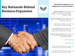 Key Rationale Behind Business Expansion Ppt PowerPoint Presentation Show Vector PDF