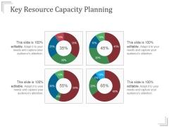 Key Resource Capacity Planning Templates 1 Ppt PowerPoint Presentation Summary