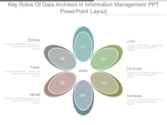 Key Roles Of Data Architect In Information Management Ppt Powerpoint Layout