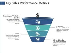 Key Sales Performance Metrics Ppt PowerPoint Presentation Show Demonstration