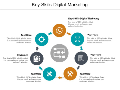Key Skills Digital Marketing Ppt PowerPoint Presentation Styles Picture Cpb