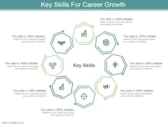 Key Skills For Career Growth Powerpoint Slide Backgrounds
