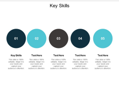 Key Skills Ppt PowerPoint Presentation Outline Professional Cpb