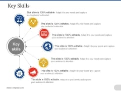 Key Skills Ppt PowerPoint Presentation Pictures Graphics Design