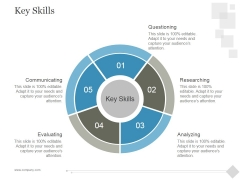 Key Skills Ppt PowerPoint Presentation Templates