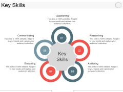 Key Skills Template 1 Ppt PowerPoint Presentation Model Vector