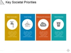 Key Societal Priorities Ppt PowerPoint Presentation Model Icons
