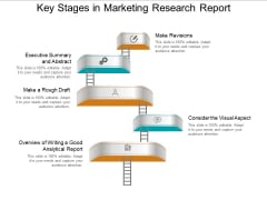 Key Stages In Marketing Research Report Ppt PowerPoint Presentation Portfolio Example