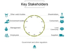 Key Stakeholders Ppt PowerPoint Presentation Templates