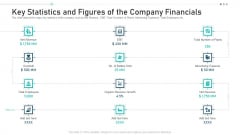 Key Statistics And Figures Of The Company Financials Ppt Gallery Graphics Tutorials PDF
