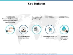Key Statistics Management Ppt PowerPoint Presentation Professional Graphics Tutorials